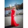 Dlouhé červené šaty KARMEN