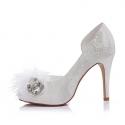 Svatební boty Kate smetanová