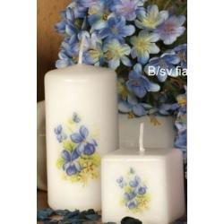 PŘÍRODNÍ STYL - modrý květ