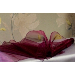 ORGANZA - švestkově fialová