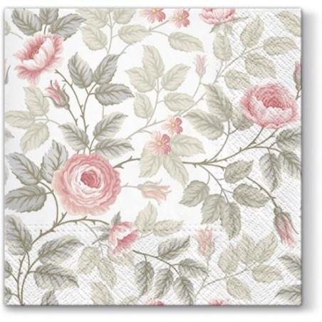 Svatební ubrousky - přírodní růže