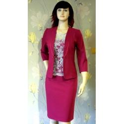 Růžové šaty Meri