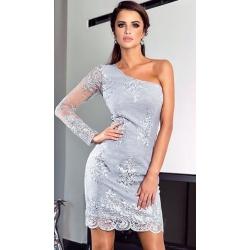 Stříbrné šaty Infinity