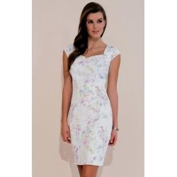 Šaty Juliana se vzorem jemných květů