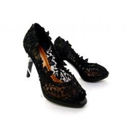 Dámské společenské boty Sandra černá