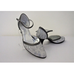 Dámské společenské boty Ela šedá