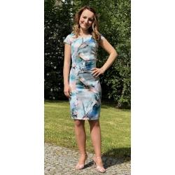 Tyrkysové šaty ANDREA