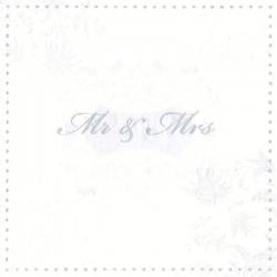 Svatební ubrousky - pan a paní