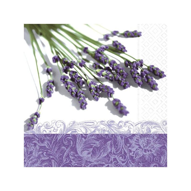 Svetební ubrousky -  lavender