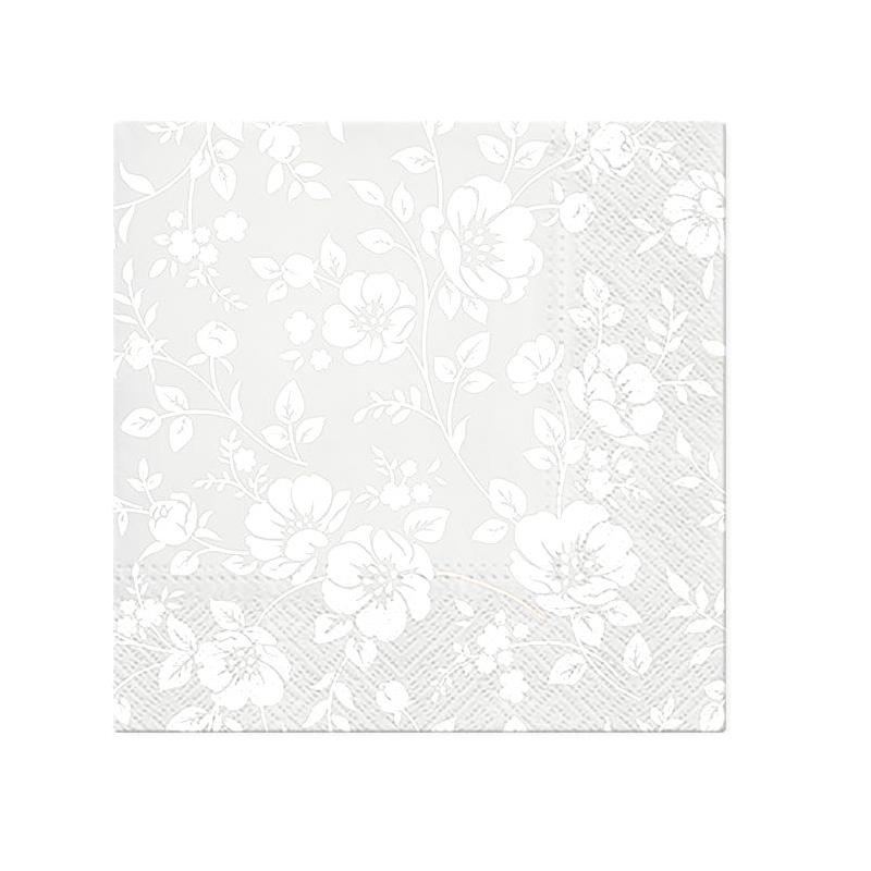 Svatební ubrousky - ornament krajky
