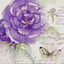 Svatební ubrousky - Vintage zázračné růže