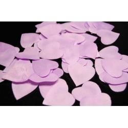 Okvětní plátky růží srdíčka lila fialová