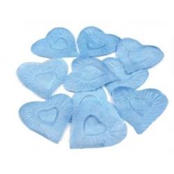 OKVĚTNÍ PLÁTKY- srdce modré