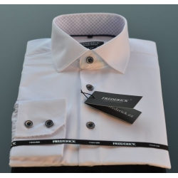 Bílá pánská košile Antonín