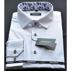 Bílá pánská košile Václav
