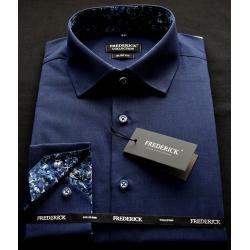 Modrá pánská košile FRANTIŠEK