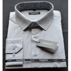 Šedá pánská košile LUDĚK