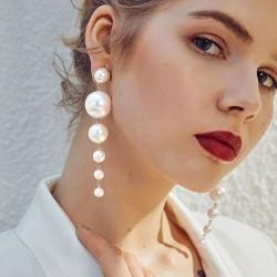 Exkluzivní naušnice s perelami