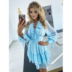 Modré šaty Sophia