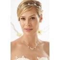 Luxusní svatební souprava s krystaly a květy
