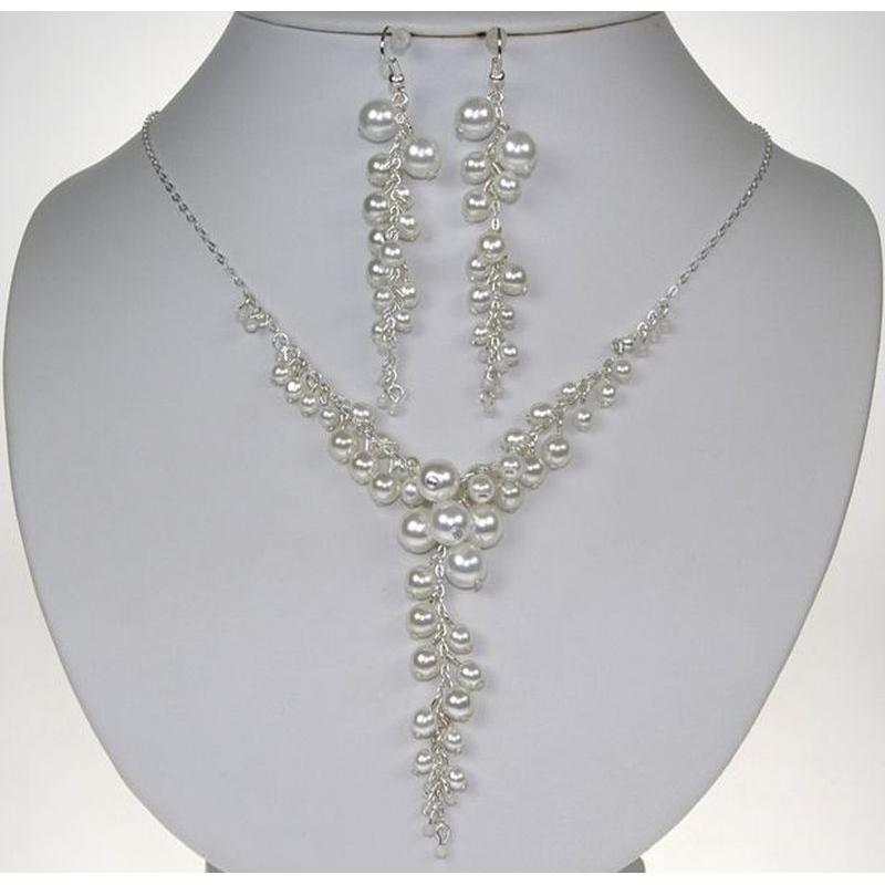 Jedinečná souprava perlových šperků