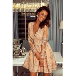 Zlatá šaty Eveline