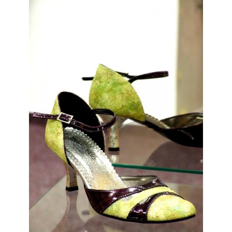 Dámské společenské boty Fiona zelená