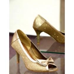 Dámské společenské boty Marina zlatá