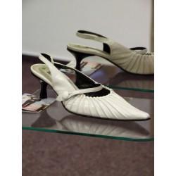 Svatební boty MACCIONI bílé