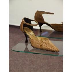 Dámské společenské boty Zorka hnědá