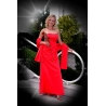 Dlouhé červené šaty ZÁPAD SLUNCE