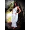 Dlouhé bílé šaty AFRODITY