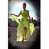 Dlouhé zelené šaty GREEN APPLE