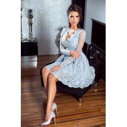 Stříbrné šaty Eveline